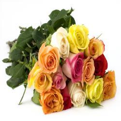 15 Mix Roses Bouquet