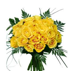 20 Yellow Roses Bouquet