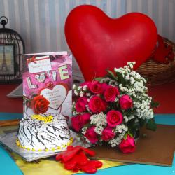 Amazing Valentine Gift Combo