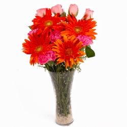 Assorted Floral Vase Arrangement