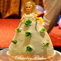 Barbie Doll Princess Cake