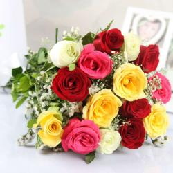 Beautiful Mix Roses Bouquet