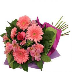Beautiful Pink Flowers wrap