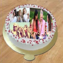 BFF Photo Cake