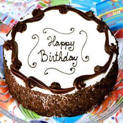 Birthday Black Forest Cake
