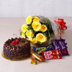 Birthday Chocolaty Treat