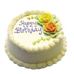 Birthday Pineapple Cake