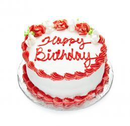 Birthday Red Velvet Cake