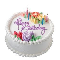 Birthday Vanilla Cake
