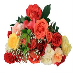 Bouquet of 22 Mix Roses