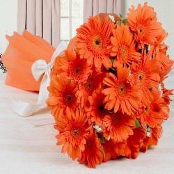 Bouquet of Orange Gerberas
