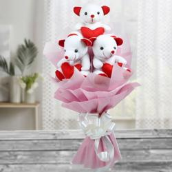 Bouquet of Teddy Online