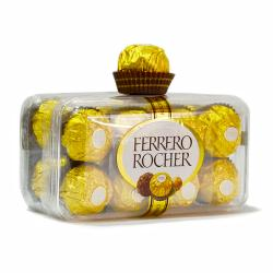 Box of Imported Fererro Rocher Chocolates on Same Day Delivery