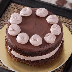 Bread Cream Chocolate Cake