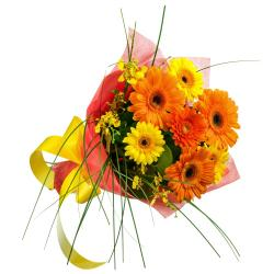 Bright Color Gerberas Bouquet