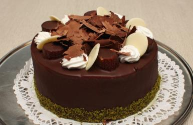 Brown Chocolate Cake