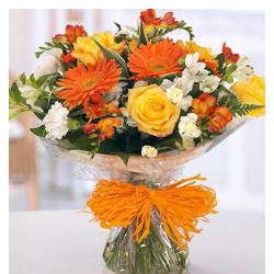 Bunch Of Seasonal Flowers