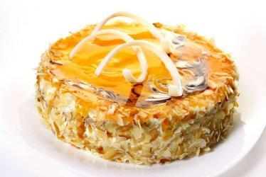 Butterscotch Caramel Cake from Five Star Bakery