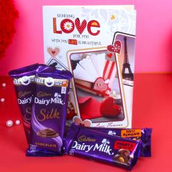 Cadbury Dairy Milk Chocolates with Greeting Card