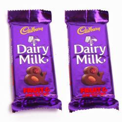 Cadbury Dairy Milk Fruit and Nut Chocolate Bars