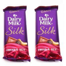 Cadbury Dairy Milk Silk Fruit & Nut Chocolate Bars