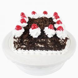 Cherry Eggless Square Black Forest Cake