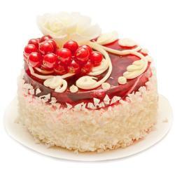 Cherry Flora Vanilla Cake