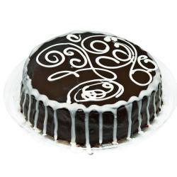 Chocolate Garnish Cake