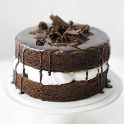 Chocolate Sponge Layer Cake