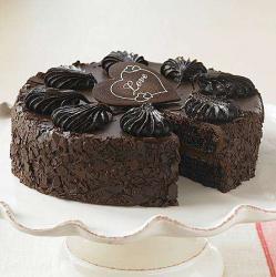 Classic Dark Chocolate Cake