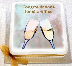 Congratulations Photo Cake