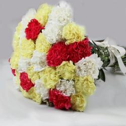 Dazzling Mix Carnations Bouquet