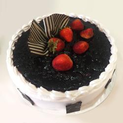 Delicious Blue Berry Cake