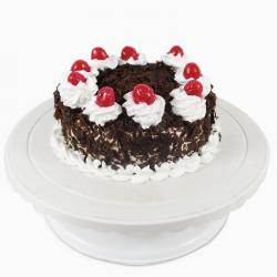 Delicious Eggless Black Forest Cake