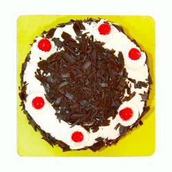 Delicious One Kg Black Forest Fresh Cream Cake