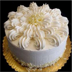 Designer Vanilla Cake from Five Star Bakery