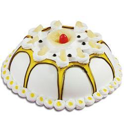 Dom Shape Pineapple Cake