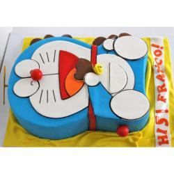 Doremon Chocolate Cake