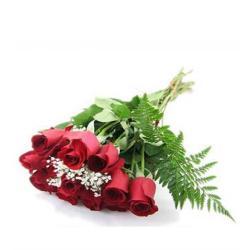 Dozen Red Roses Bouquet