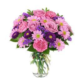 Elegant Pink flower Vase