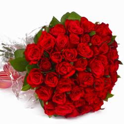 Exclusive Love 50 Red Roses Bouquet