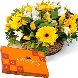 Floral Arrangement and Celebration Pack