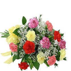 Fresh Carnations Bouquet