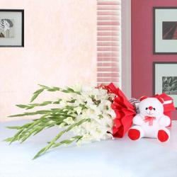 Glads with Teddy Bear Soft Toy