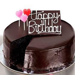 Half Kg Chocolate Birthday Cake