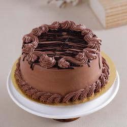 Half Kg Wiped Cream Chocolate Cake