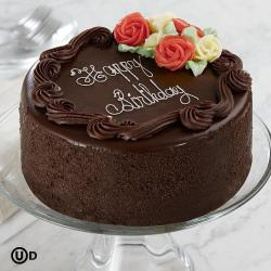 Happy Birthday 2 Kg Dark Chocolate Cake