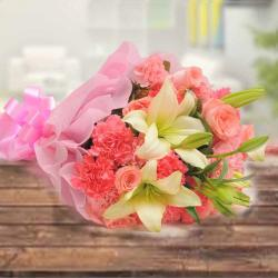 Mix Flowers Bouquet Same Day Delivery