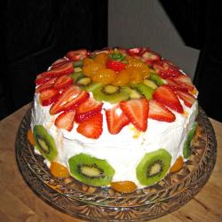 Mix Fruit Cream Cake