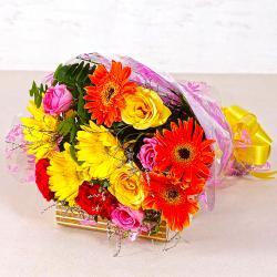 Mix Seasonal Flowers Bunch